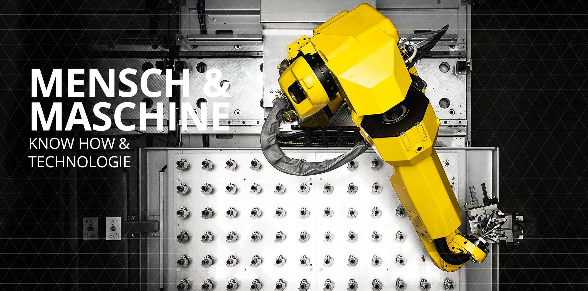 Schweiger automatisierte Roboterfertigung