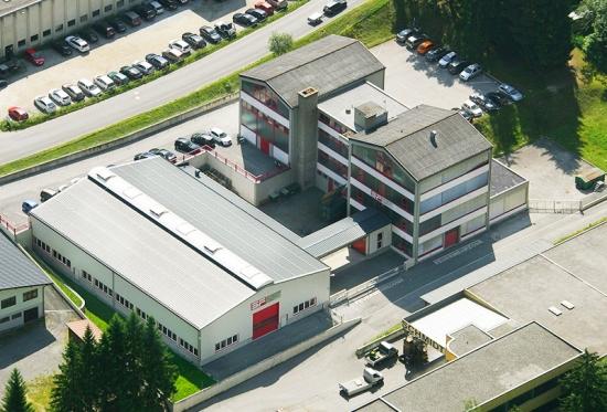 Schweiger fulpmes aerial picture
